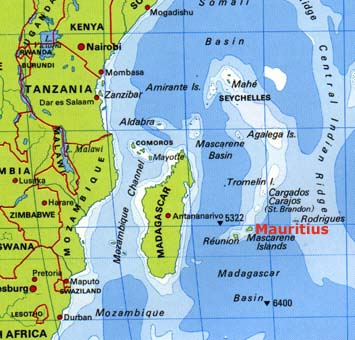 where in the world is mauritius part 2