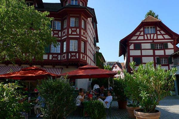Beautiful architecture of Lucerne