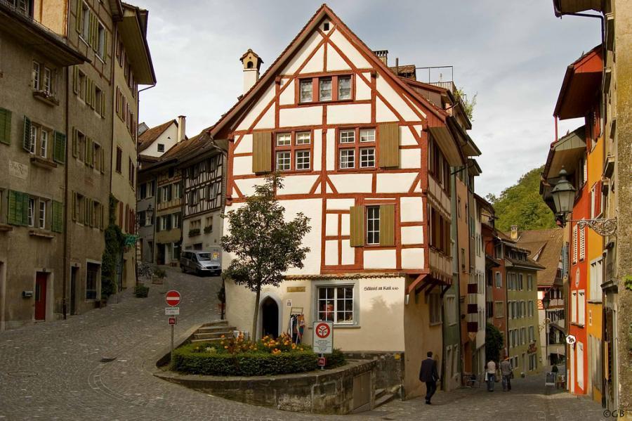 In Baden Baden Schweiz