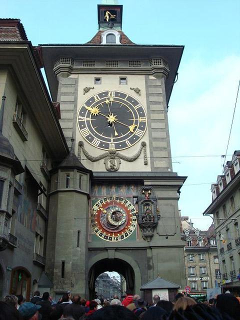 Zytglogge Clock Tower, Berne, Switzerland