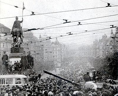 Prague Invasion 1968
