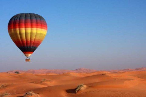 Taking a Balloon Desert Expedition is one of your many choices of things to do.
