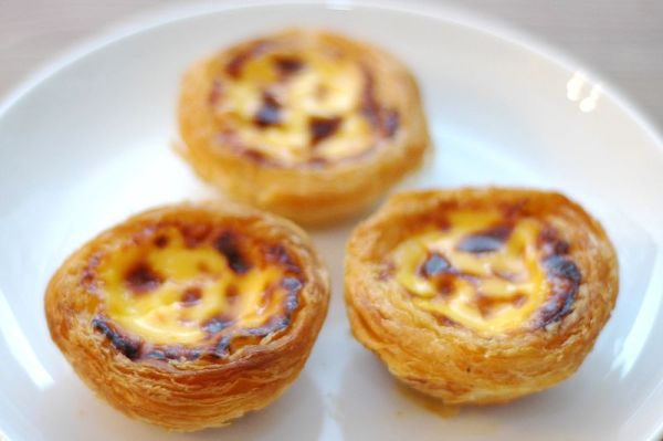 Pasteis de nata or Egg Tarts are very popular in Macao