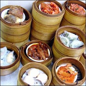 Traditional Dim Sum, also known as Yum Cha