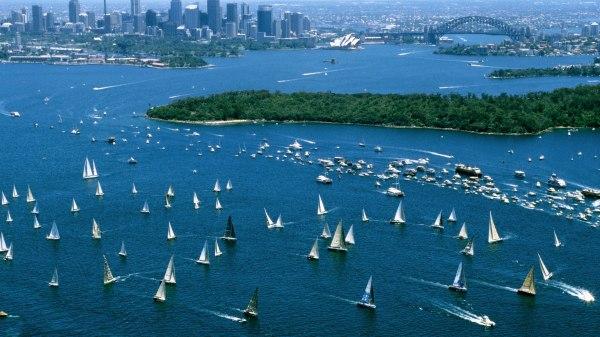 Hobart Yacht Race, Sydney Harbor