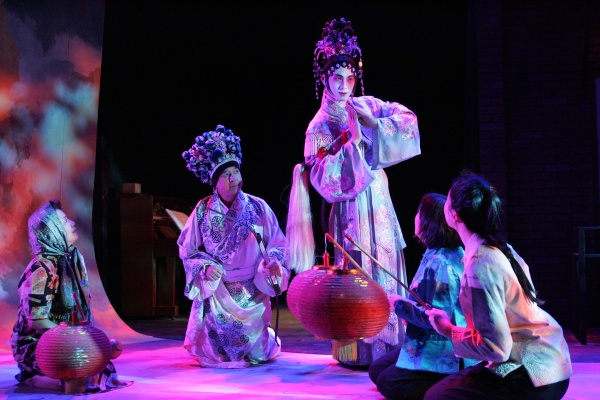 Japanese theater performance.