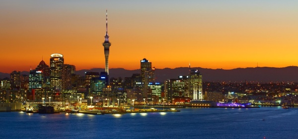 The 'City of Sails' a.k.a. Auckland