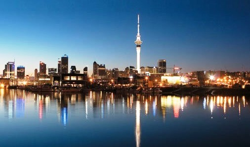 Auckland, NZ Skyline