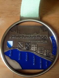 Zurich Marathon Medal!