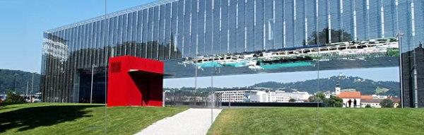 LENTOS Kunstmuseum (art museum) in Linz