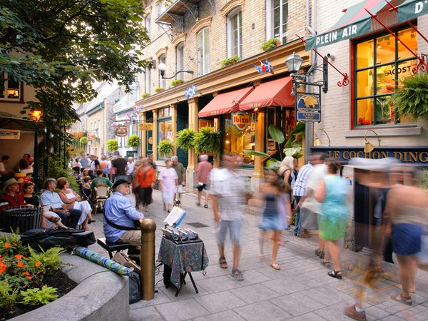 Tourism is another economic factor for Quebec.