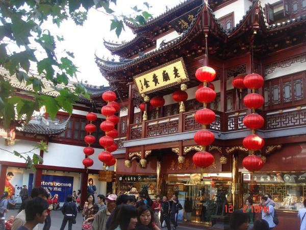 Shanghai's City God Temple