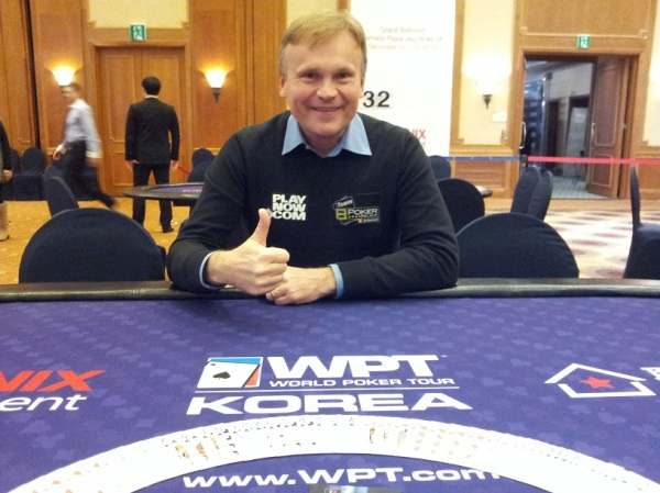 Me at the WPT in South Korea!