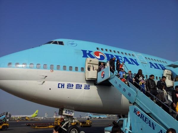 Boeing 747-400 in South Korea