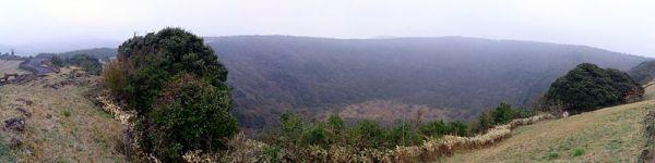 Sangumburi Volcano Crater