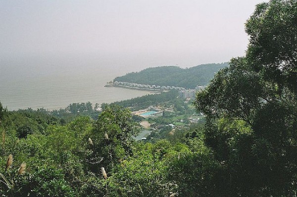 Alto de Coloane, the highest point in Macao