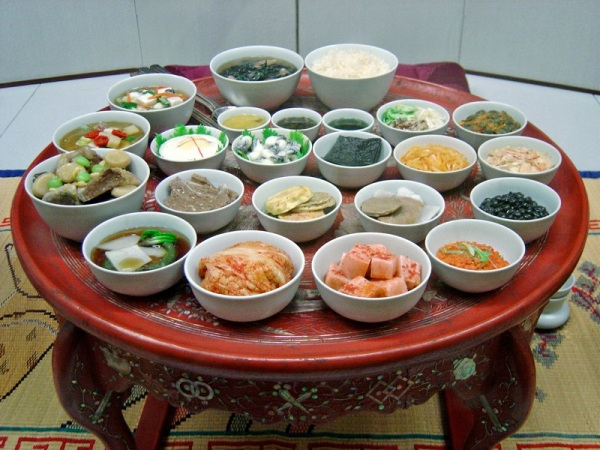 The many foods of Korea