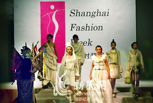 Shanghai Fashion Week happens twice a year in October and April.