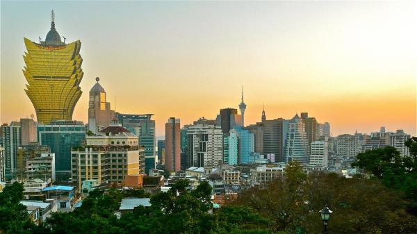 Macao skyline, China