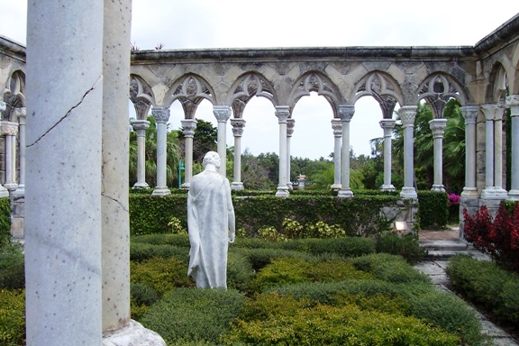 The Cloisters statue